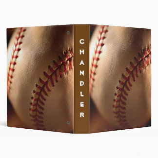 PERSONALIZED Baseball AVERY BINDERS