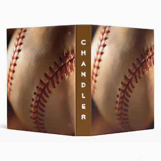 PERSONALIZED Baseball AVERY BINDERS