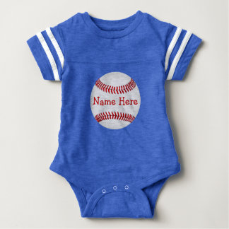 Personalized Baseball Baby Shower Gifts for Boys Baby Bodysuit
