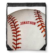 Personalized Baseball Backpack