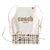 Personalized Baseball Ball coach apron