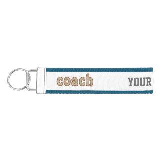 Personalized Baseball Ball coach keychain