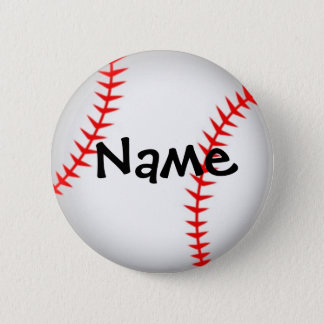 Personalized Baseball Button