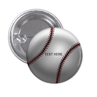 Personalized Baseball Button