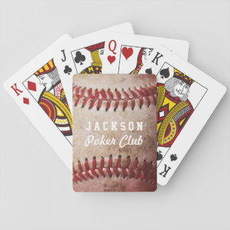 Personalized Baseball Card Deck | Playing Cards