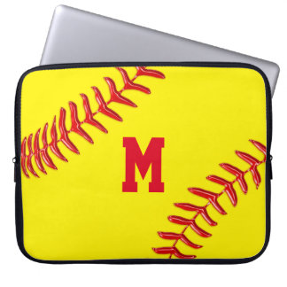 Personalized Baseball Cases for Laptop 10 - 15 in Computer Sleeve