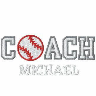 Personalized Baseball Coach Embroidered Shirt