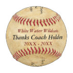Personalized Baseball Coach Thank You Gifts