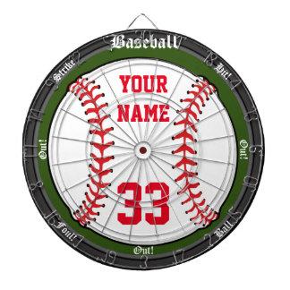 Personalized Baseball Dartboards