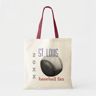 Personalized Baseball Fan Tote Bag