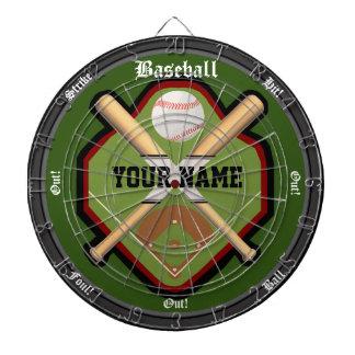 Personalized Baseball Field Dart Board