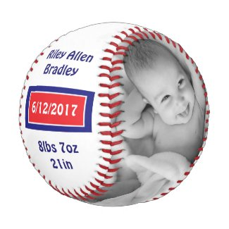 Personalized Baseball for Newborn Babies Gift