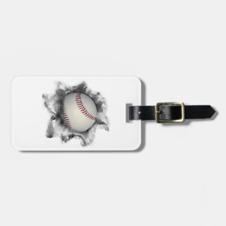 personalized baseball gift ideas tag for luggage