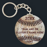 "PERSONALIZED Baseball Gifts for Players, Seniors Keychain<br><div class=""desc"">PERSONALIZED Inexpensive Bulk Baseball Keychains or buy just ONE. For multiple names, Personalize ONE baseball keychain at a time, ADD to Cart, then still WITHIN Your CART, then Click on the small Baseball Keychain IMAGE so now you only need to CHANGE the NAME and NUMBER. OR, Type in the SAME...</div>"