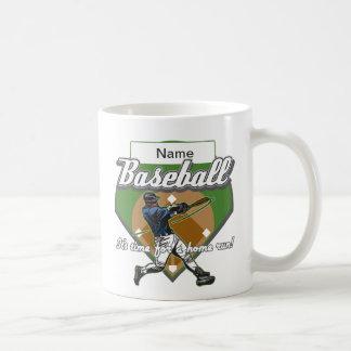 Personalized Baseball Home Run Coffee Mug