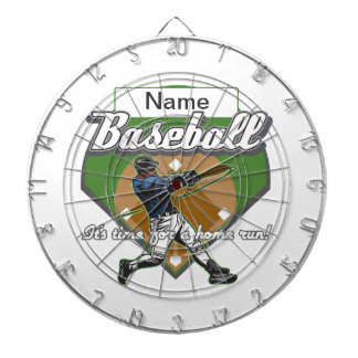 Personalized Baseball Home Run Dartboard With Darts