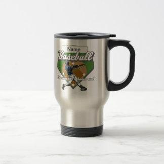Personalized Baseball Home Run Travel Mug