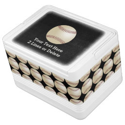 Personalized Baseball Igloo Cooler