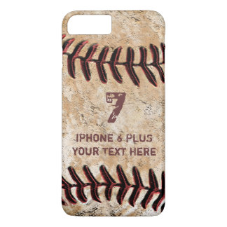 Personalized Baseball iPhone 7 PLUS Case Your TEXT