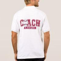 Personalized Baseball Jersey Polo Shirt