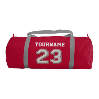 Personalized Baseball Number 23 with Your Name Duffle Bag