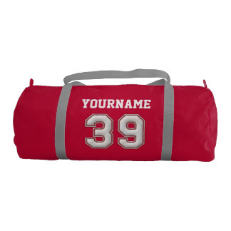 Personalized Baseball Number 39 with Your Name Gym Bag