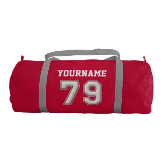 Personalized Baseball Number 79 with Your Name Duffle Bag