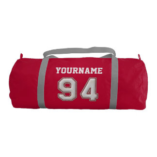 Personalized Baseball Number 94 with Your Name Gym Bag