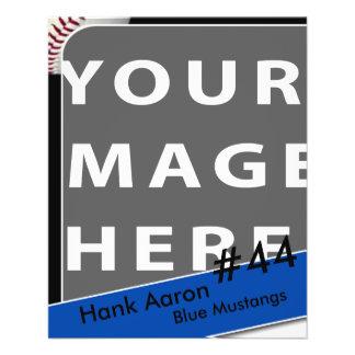 Personalized Baseball Photo Card