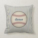 Personalized Baseball  Pillow