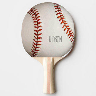 Personalized Baseball Ping-Pong Paddle