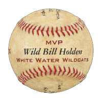 Personalized Baseball Player Award Recognition