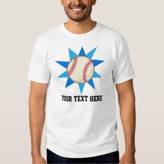 Personalized Baseball Player T Shirt