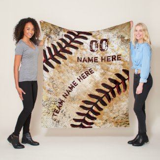 Personalized Baseball Senior Night Gifts, Blanket