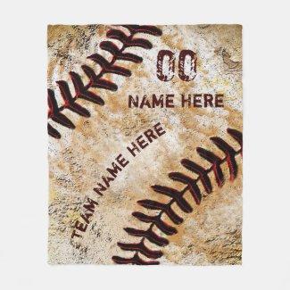 Personalized Baseball Senior Night Gifts, Blanket