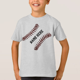 Personalized Baseball Shirts for Kids