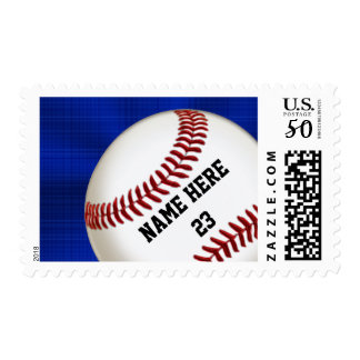 Personalized Baseball Stamps USPS Official