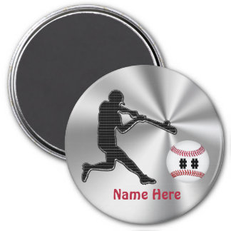 Personalized Baseball Team Gift Ideas for Kids Magnet