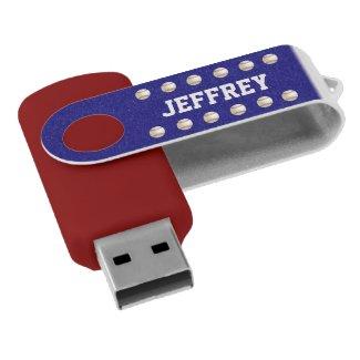 Personalized, Baseball USB Flash Drive