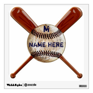 Baseball Nursery Wall Decals Stickers