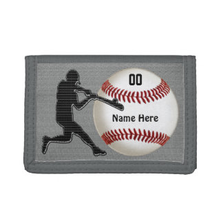 Personalized Baseball Wallets for Guys