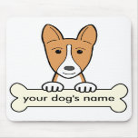 Personalized Basenji Mouse Pads