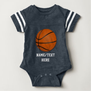 3fc87fe8387 Personalized Basketball Baby Boy Baby Bodysuit
