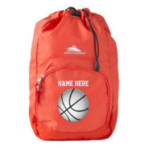 Personalized Basketball Backpack see More Colors