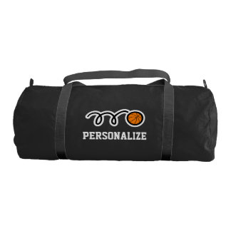 Personalized basketball bag for player and coach gym duffel bag