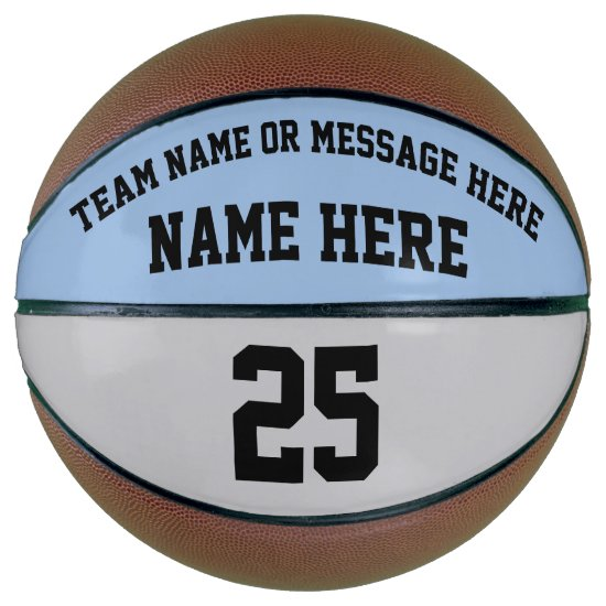 Personalized Basketball Ball for Basketball Player