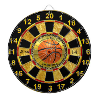 Personalized Basketball Champions League design Dartboard With Darts