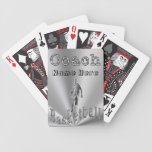 Personalized Basketball Coach Gifts Bicycle Playing Cards