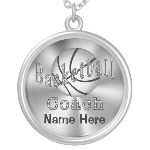 Personalized Basketball Coach Gifts for Women Jewelry