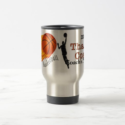 Personalized Basketball Coach Gifts NAME and YEAR Coffee Mug